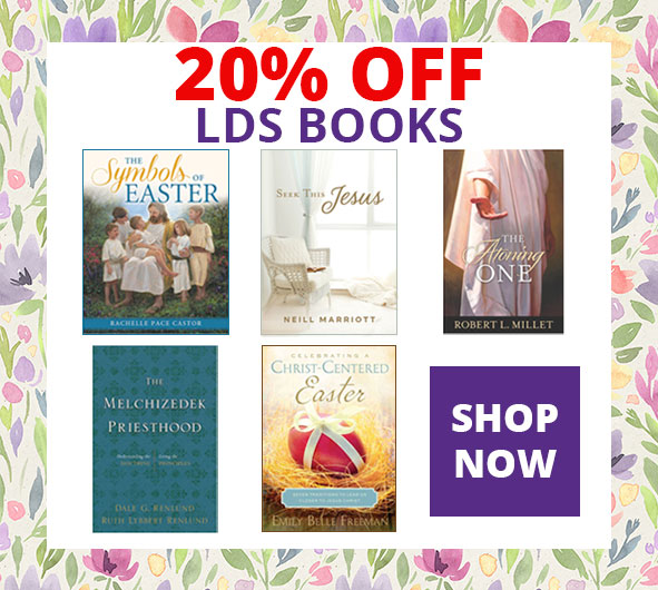 20% Off LDS Easter Books