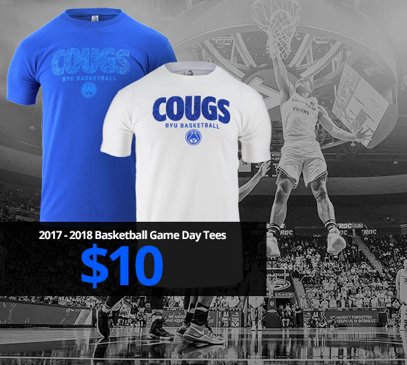 BYU Basketball Game Day T-Shirts $10