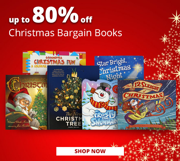 Christmas Bargain Books up to 80% Off