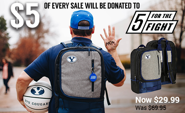 5 for the Fight BYU Backpack