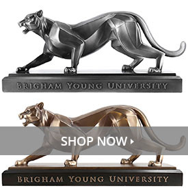 BYU Cougars Sculptures