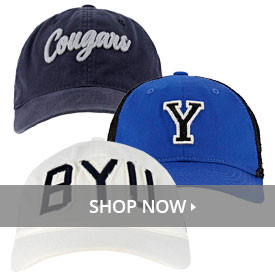 700527d13477 BYU Hats, Official Store, Fan Gear