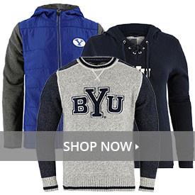 ad51285d0b90a4 BYU T-Shirts · BYU Sweatshirts   Hoodies