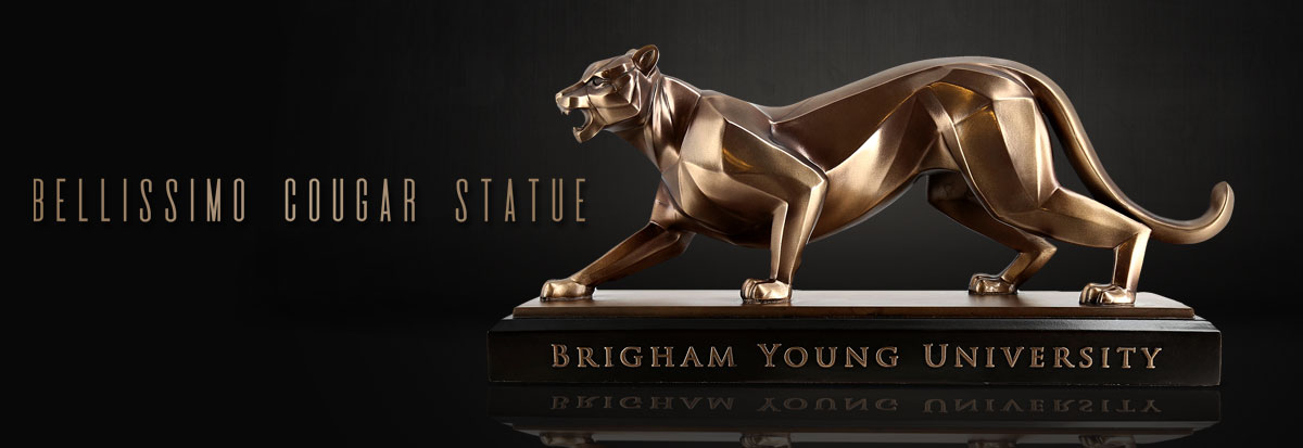 Shop Bellissimo BYU Cougar Sculptures