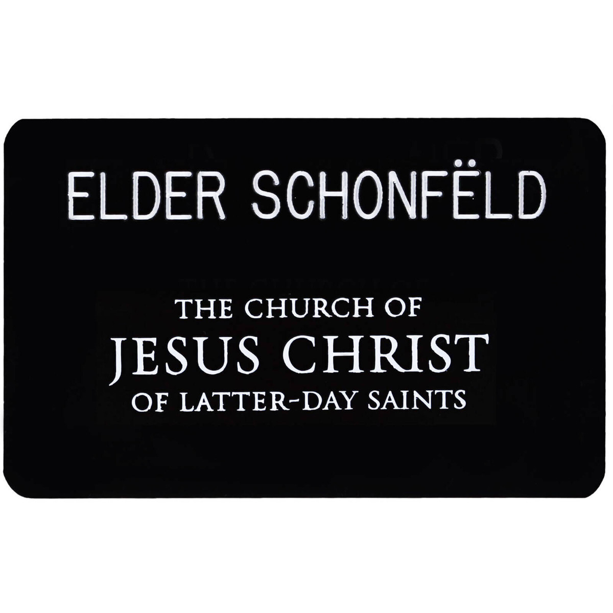 image about Lds Missionary Name Tag Printable named Missionary Popularity Tag - Opt for Programs