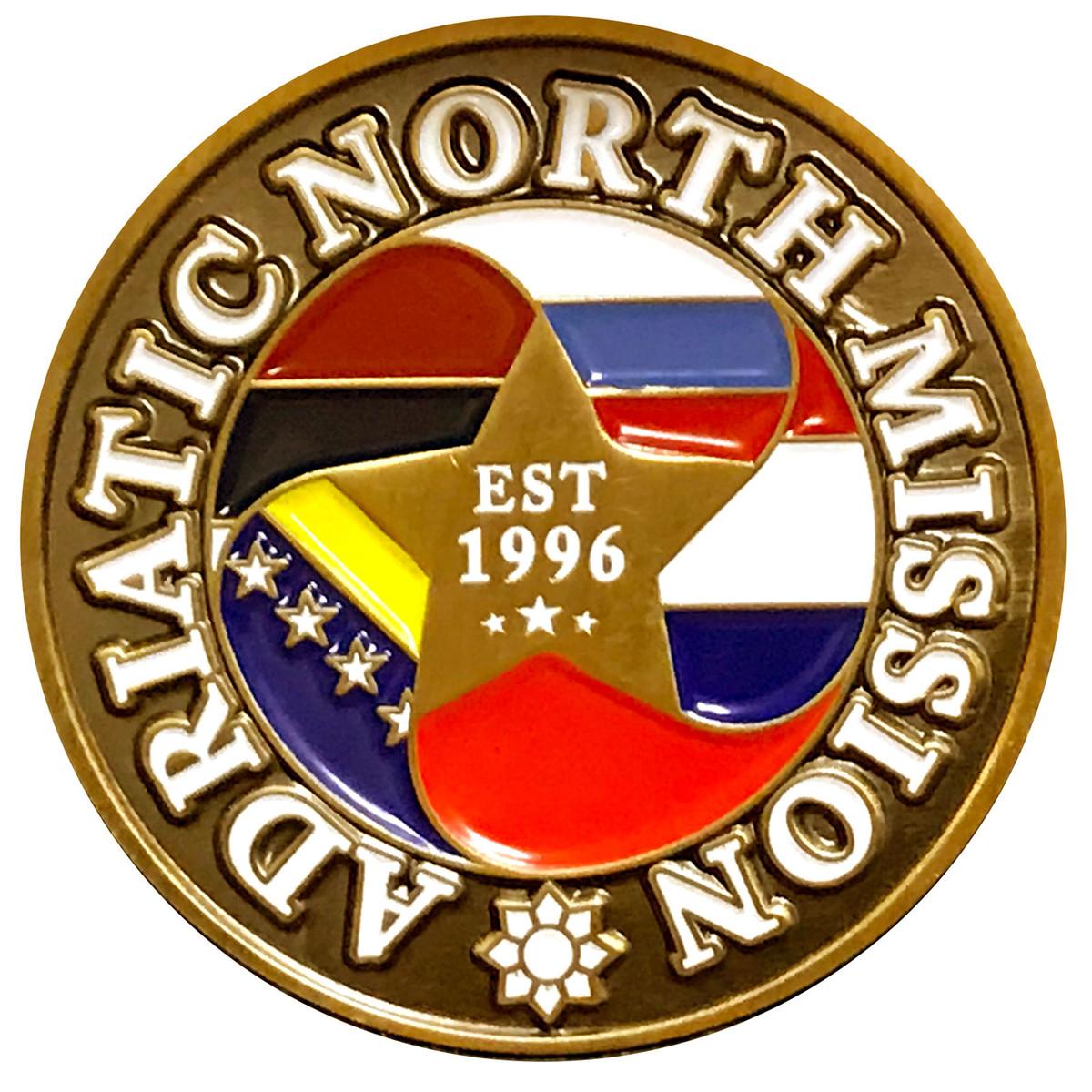 Adriatic North Commemorative Mission Coin