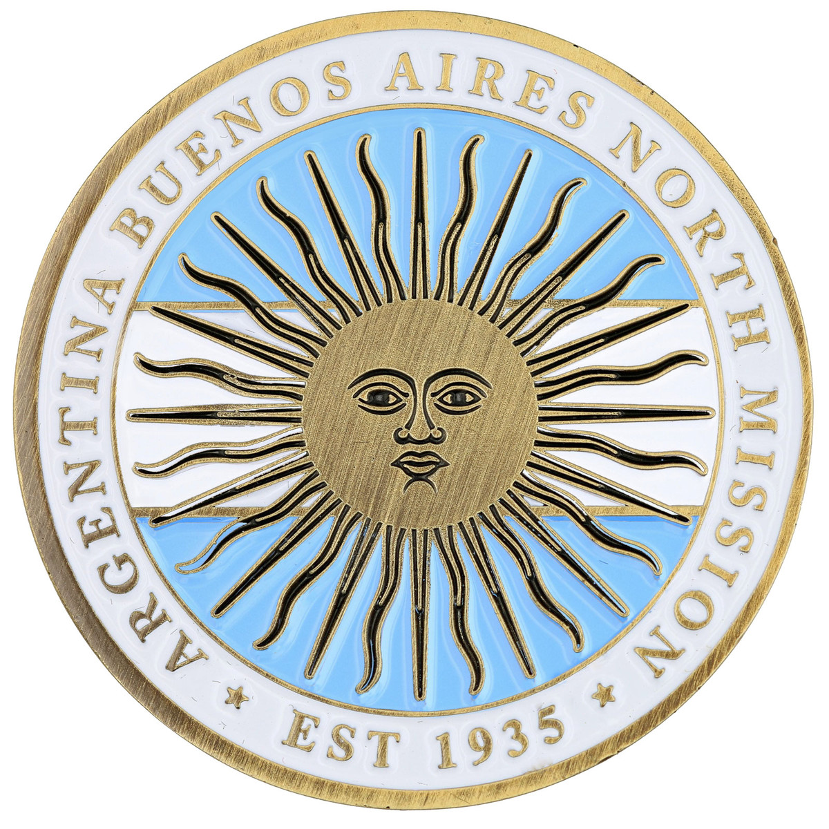 Argentina Buenos Aires North Commemorative Mission Coin