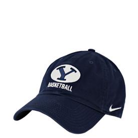 Oval Y Basketball BYU Hat - Nike 6a13e93ebf1