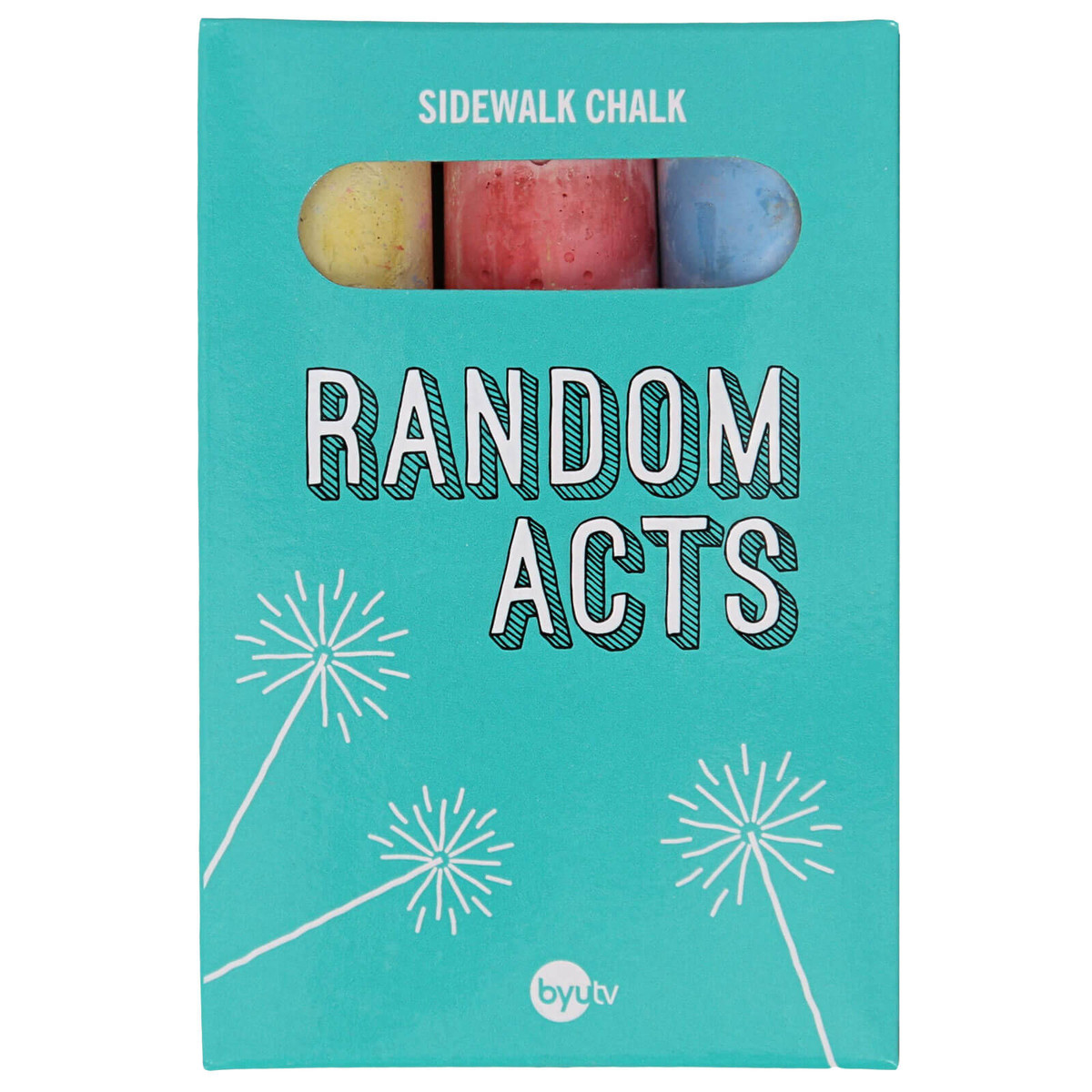 Byutv Random Acts Sidewalk Chalk