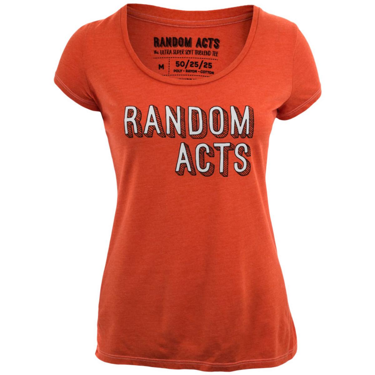 ec591822f7d01 Women s BYUtv Random Acts Tri-Blend T-Shirt
