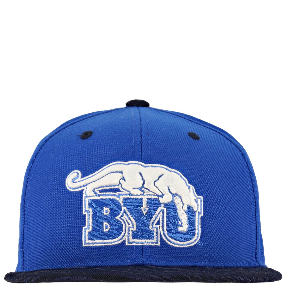 92c769adb9023 Retro Cougar Over BYU Hapuna BYU Flat Bill Hat - Zephyr