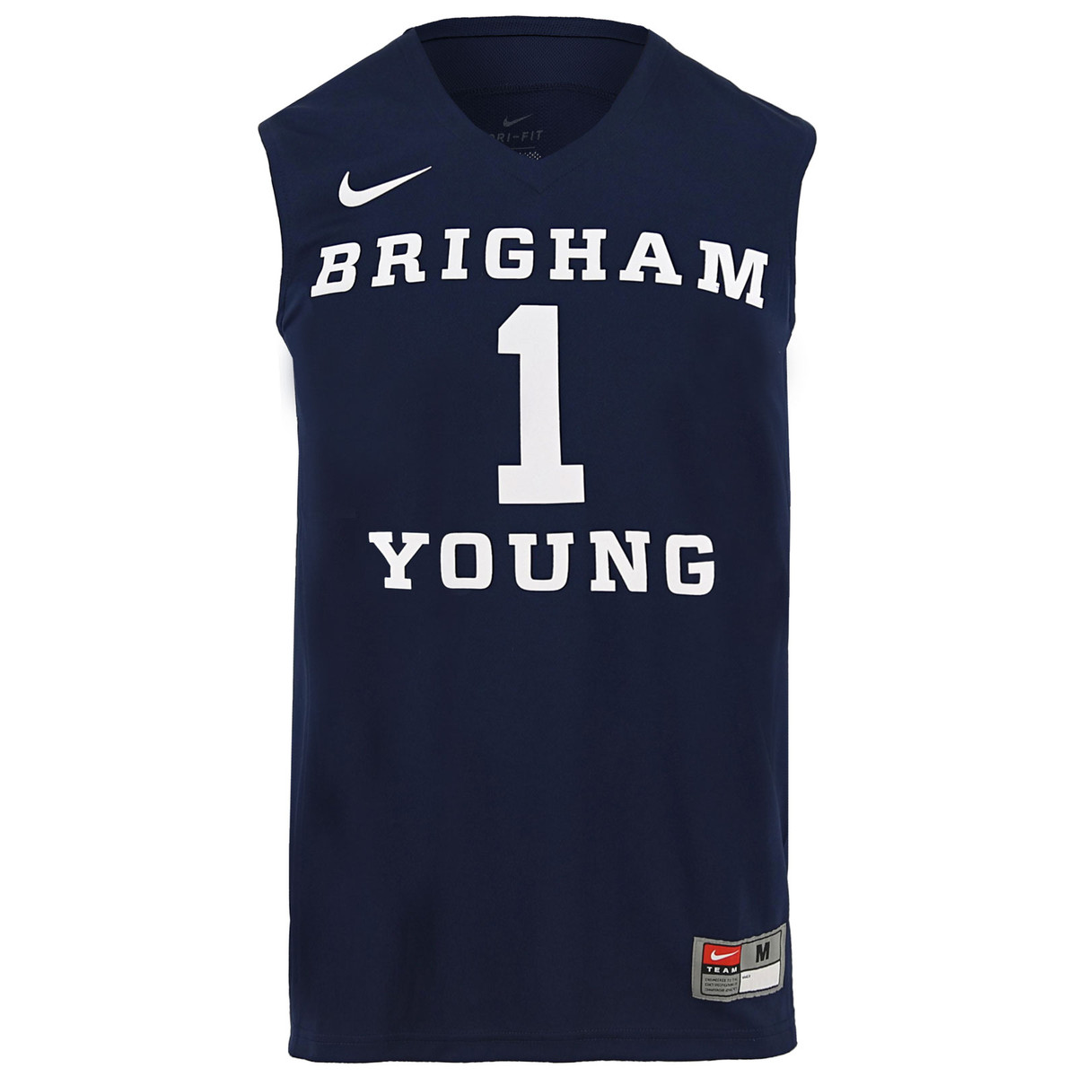 super popular 99169 4cf6f Dri-Fit Brigham Young BYU Basketball Jersey - Nike
