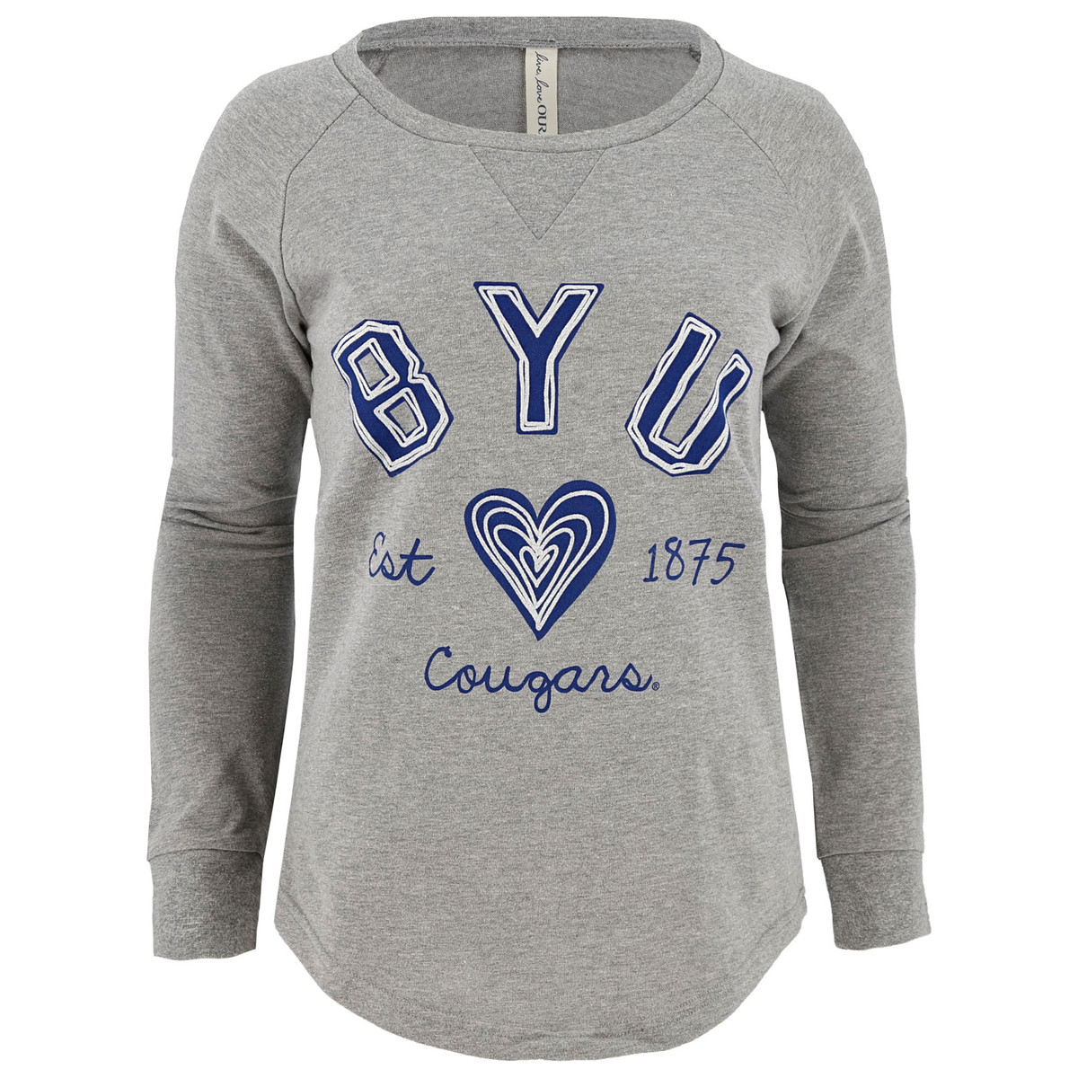 15f3e141 Women's BYU Cougars Long Sleeve Shirt - Ouray
