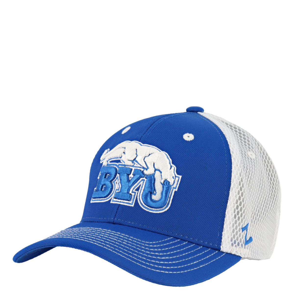 3b257323b2506 Retro Cougar Over BYU Hat - Zephyr