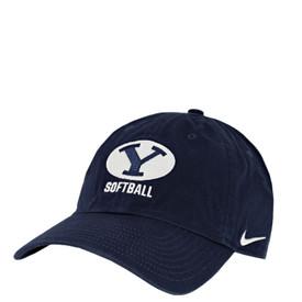 544a0fb01 Oval Y Heritage 86 Softball BYU Hat - Nike