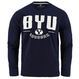 huge discount e029c be85e BYU Cougars Oval Y Long Sleeve Shirt - Colosseum