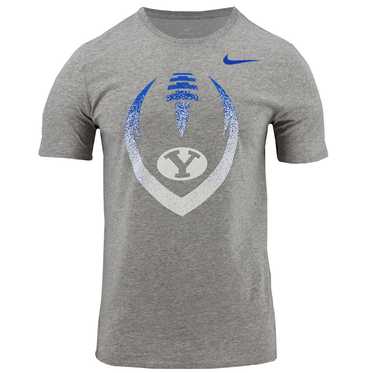 140e4b8f Dri-Fit Oval Y Football BYU T-Shirt - Nike