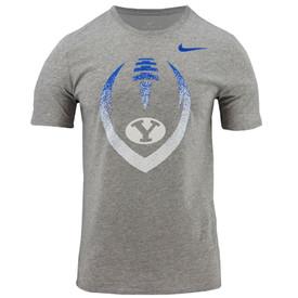 a1f0a8c98ebd9 Dri-Fit Oval Y Football BYU T-Shirt - Nike