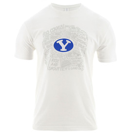 d546f63effb 2019 Official BYU Football Game Day Poly-Blend T-Shirt