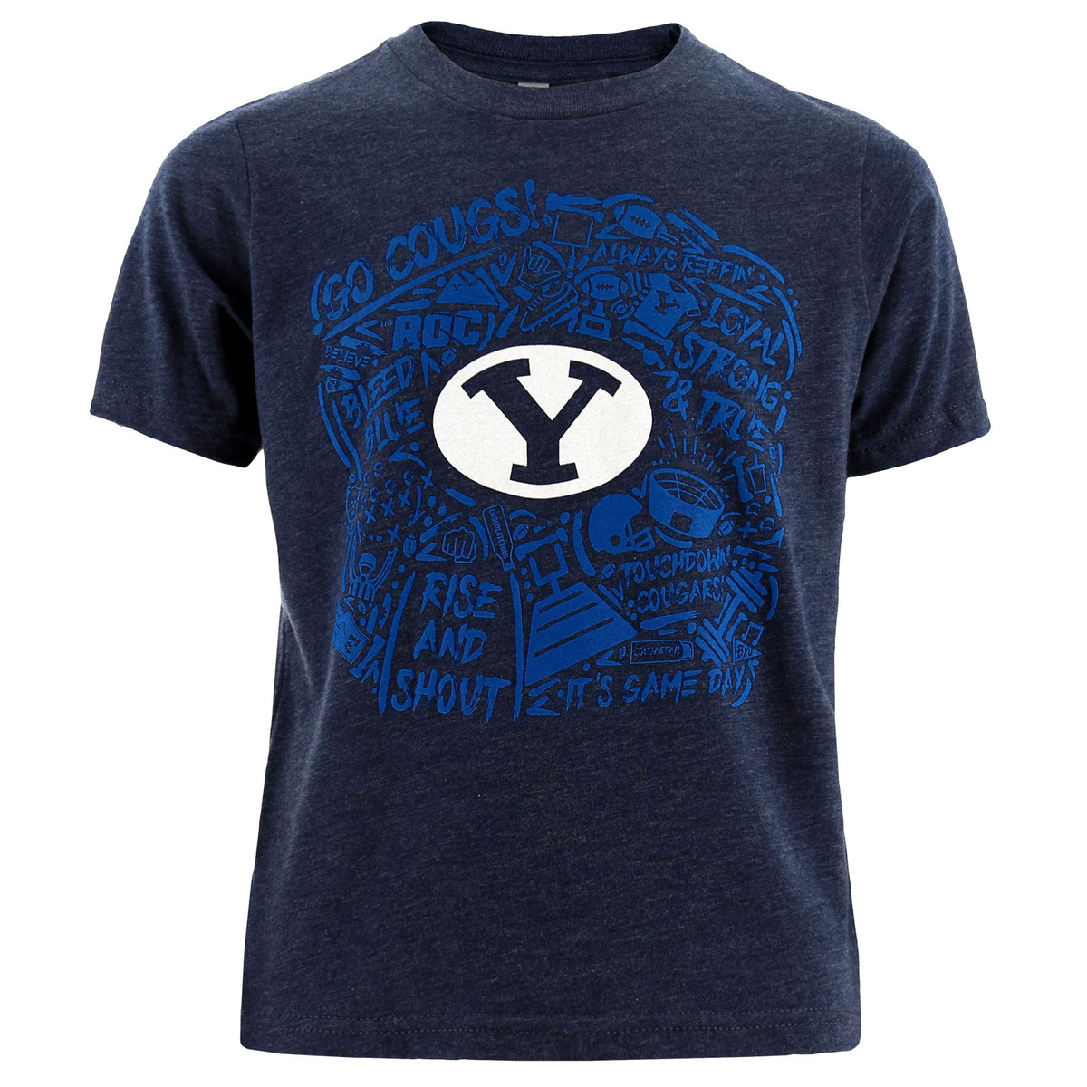 553bc4d1 Youth 2019 Official BYU Football Game Day Poly-Blend T-Shirt