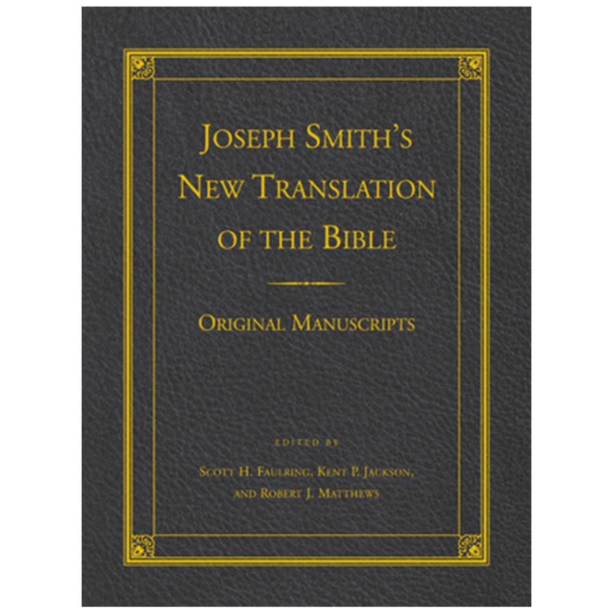 Joseph Smith's New Translation Of The Bible Original Manuscr