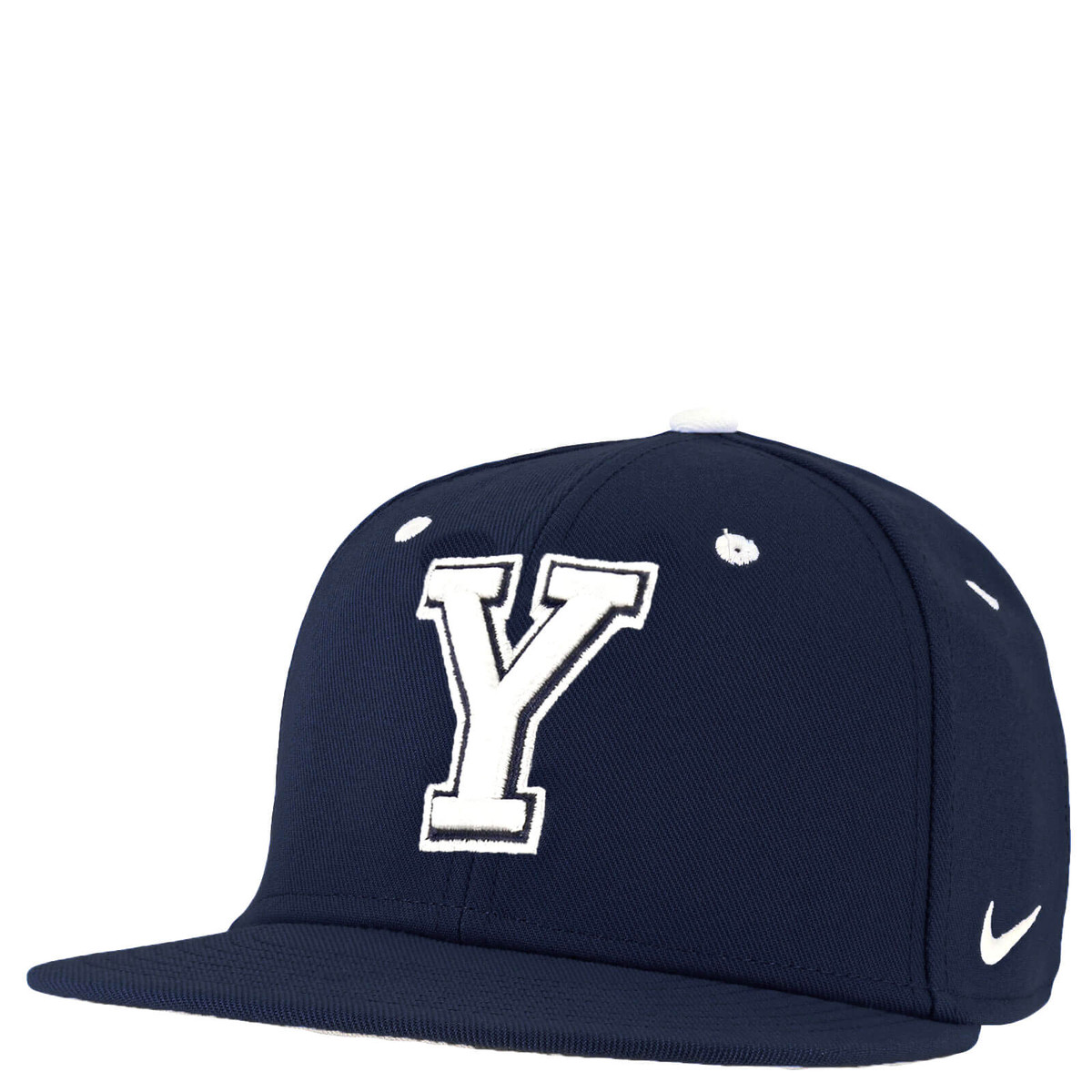 the best attitude 33162 5c591 Block Y Fitted Baseball Flat Bill Hat - Nike