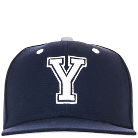 c3b148886 Block Y Fitted Baseball Flat Bill Hat - Nike