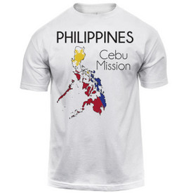 c8530c179919 Philippines Cebu Map Mission Tee Shirt Men s