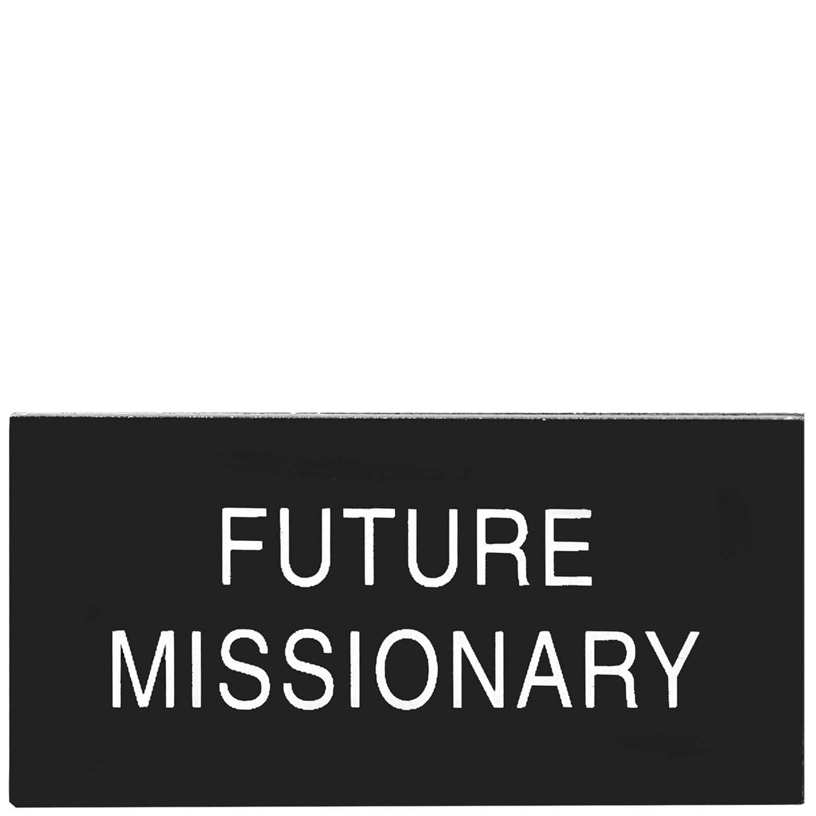 picture about Future Missionary Tag Printable identify Potential Missionary Badge