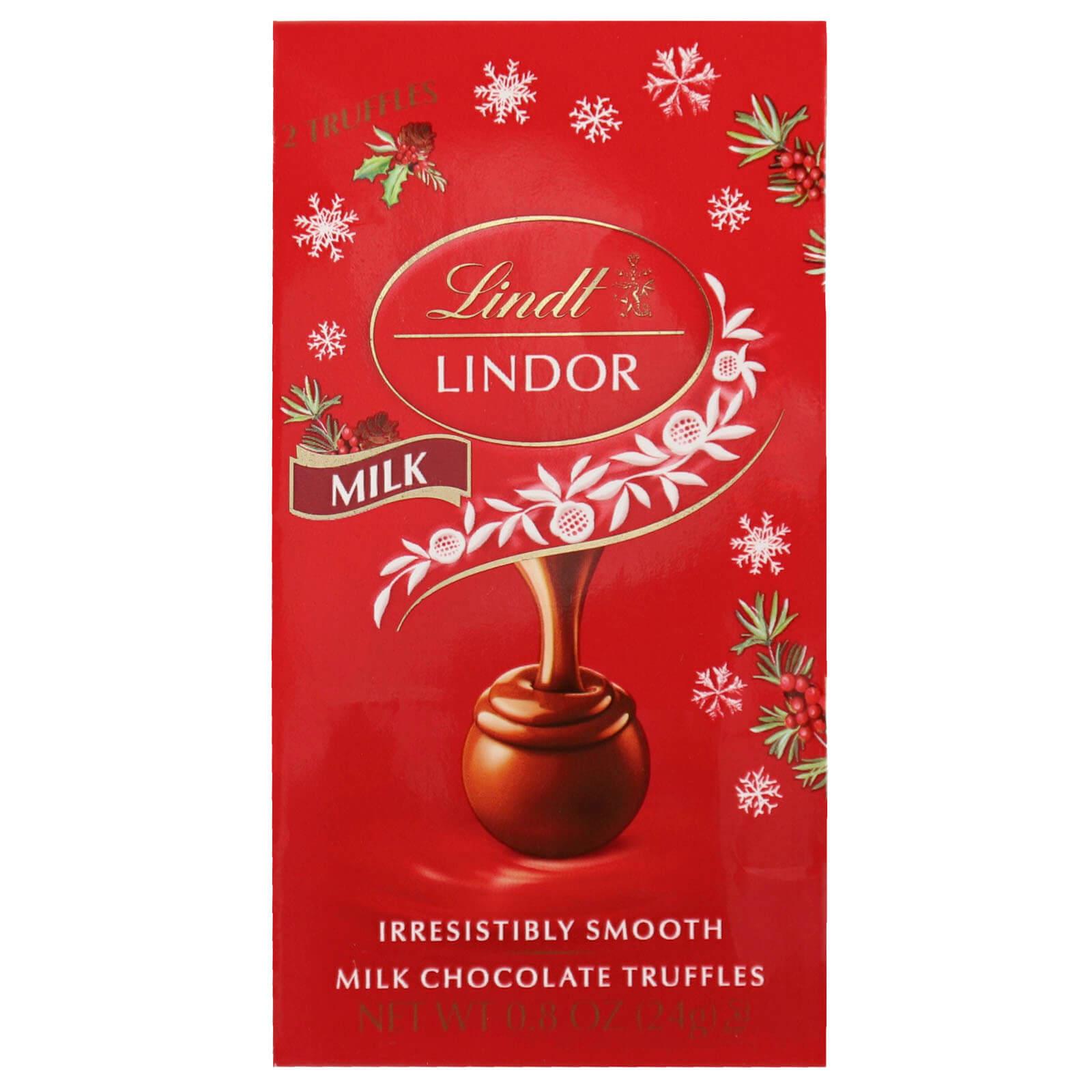 Lindor Milk Chocolate Truffles Mini Bag - Lindt