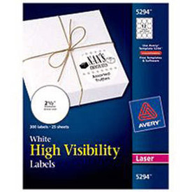 avery white round laser labels 2 1 2 25 sheet