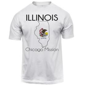 Illinois Chicago Map.Illinois Chicago Map Mission Tee Shirt Men S