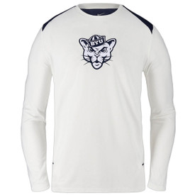 a477e17d6 Dri-Fit Sailor Hat Cougar Shooter BYU Long Sleeve Shirt - Nike