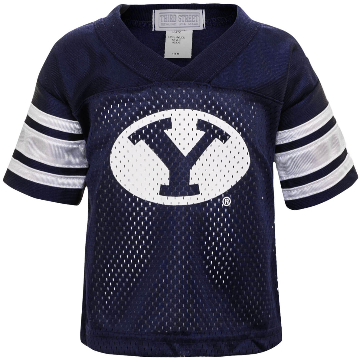 on sale e4489 2913a Infant Oval Y Replica BYU Football Jersey - Third Street