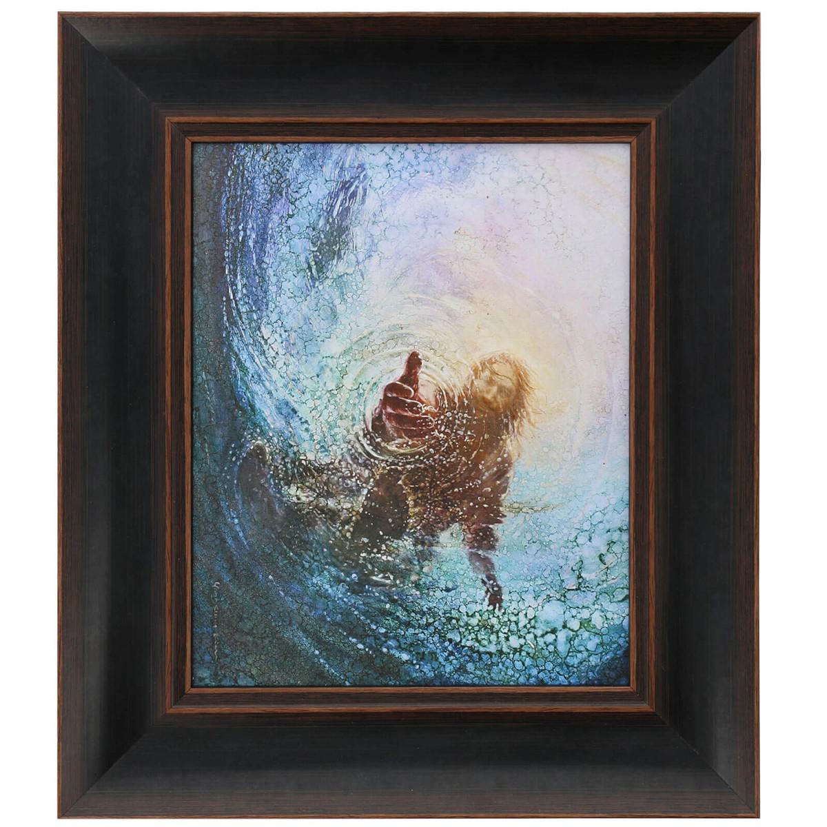 Framed Art: The Hand of God by Yongsung Kim - 12\