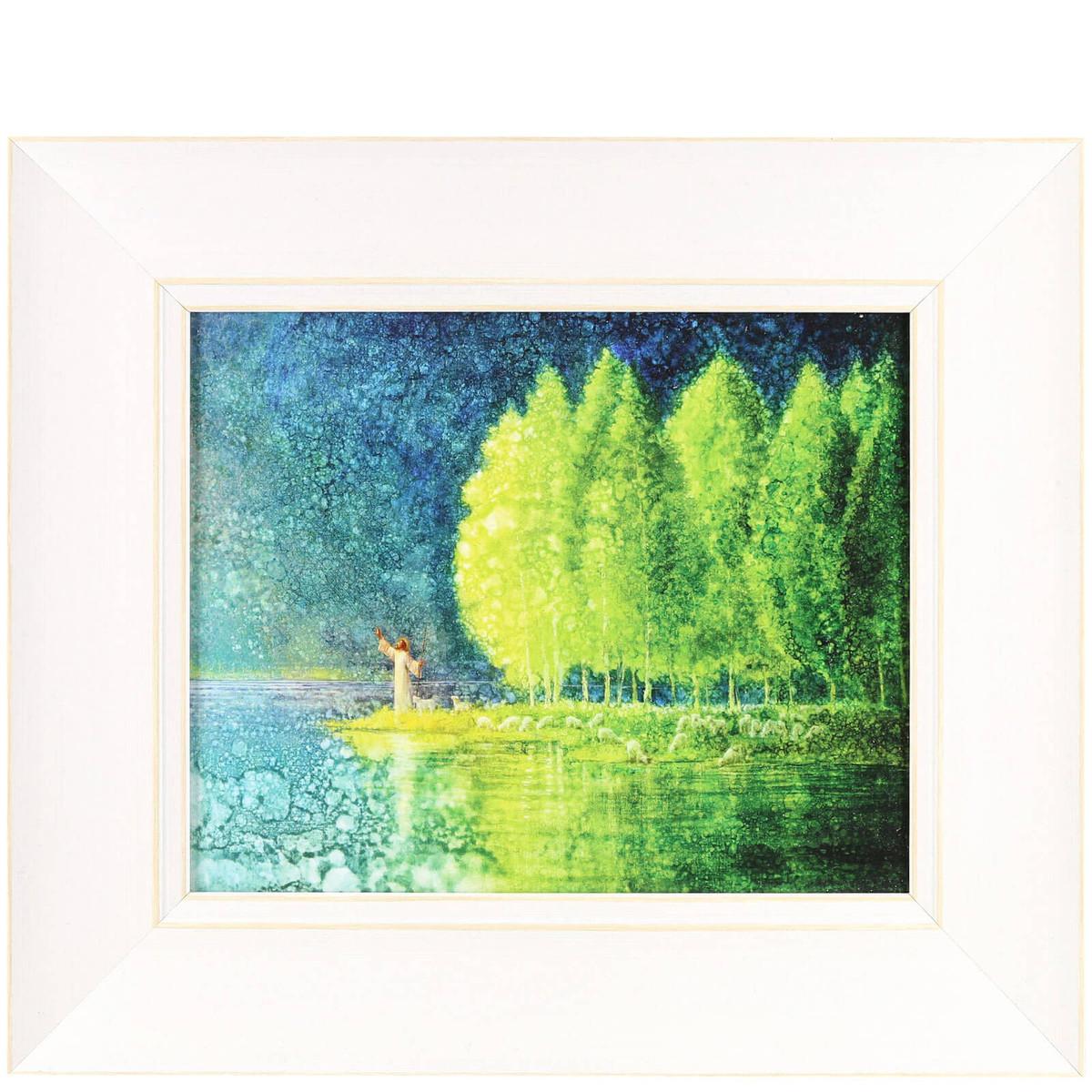 Framed Art: Beside Still Waters by Yongsung Kim - 12\