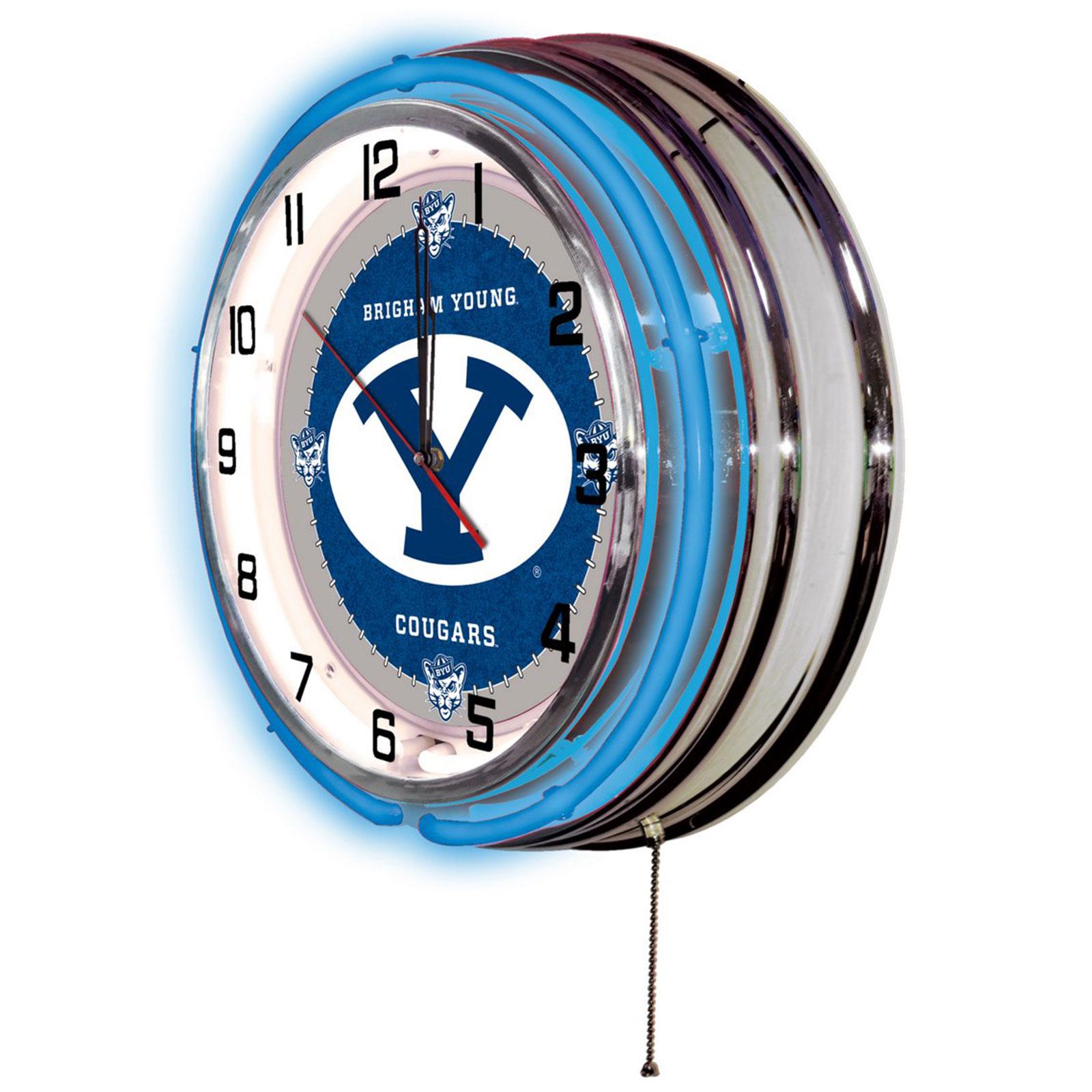 19 Wall Clock Byu 19