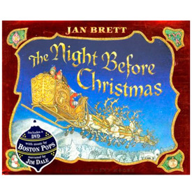 the night before christmas by clement moore and illustrated by jan brett