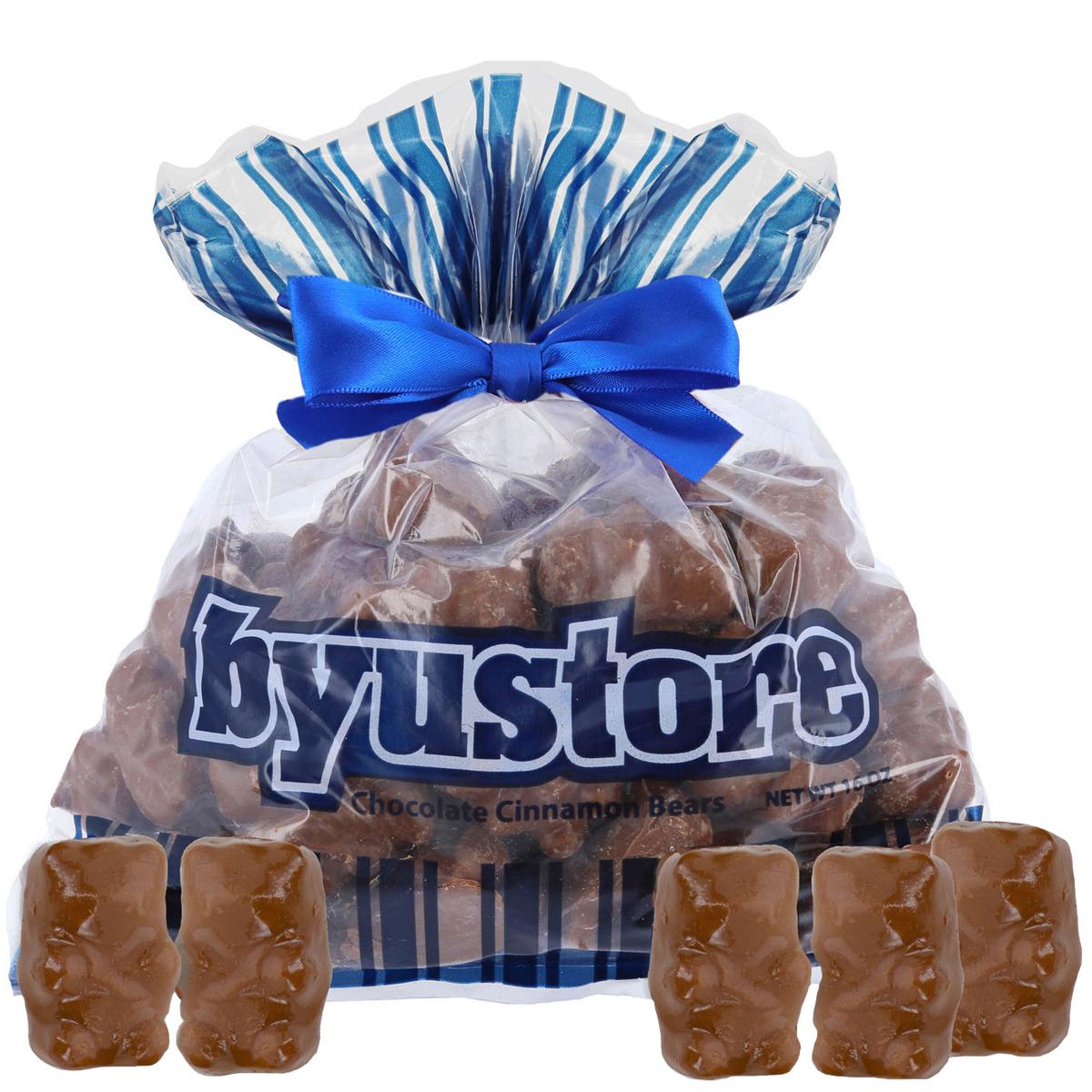 BYU Store Chocolate Covered Cinnamon Bears - 1 lb. Bag